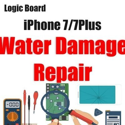 iPhone 7/7Plus Water Damage Logic Board Repair