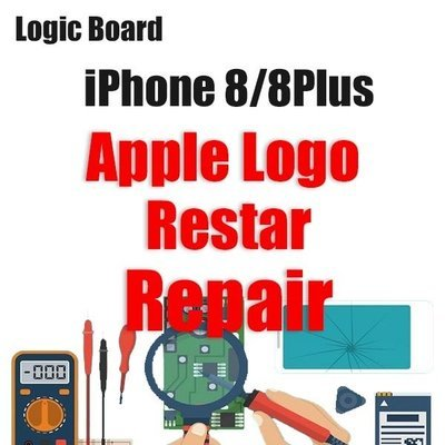 iPhone 8/8Plus Apple Logo Restarting Logic Board Repair