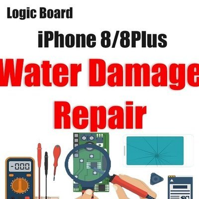 iPhone 8/8Plus Water Damage Logic Board Repair