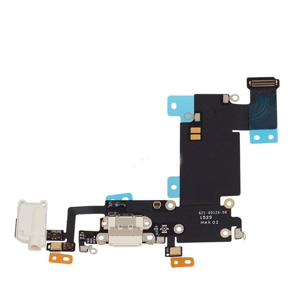 iPhone 6S Plus Charging Port Flex Replacement - White
