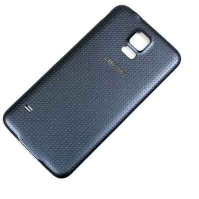 Samsung S5 Back Cover Replacement - Black