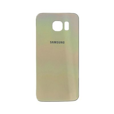 Samsung S6 Back Cover Replacement - Gold