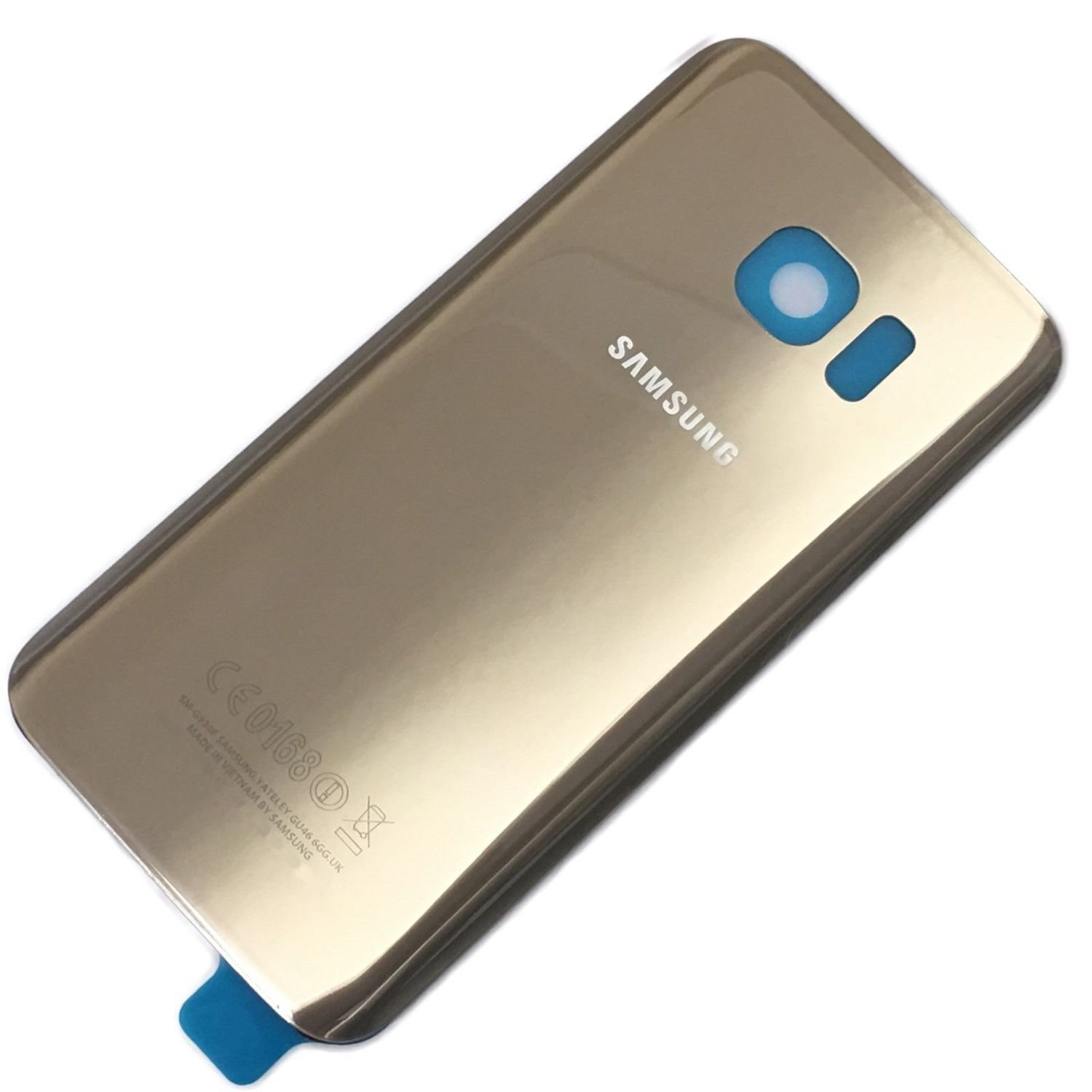 Samsung S7 Edge Back Cover Replacement - Gold