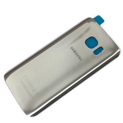Samsung S7 Edge Back Cover Replacement - Silver