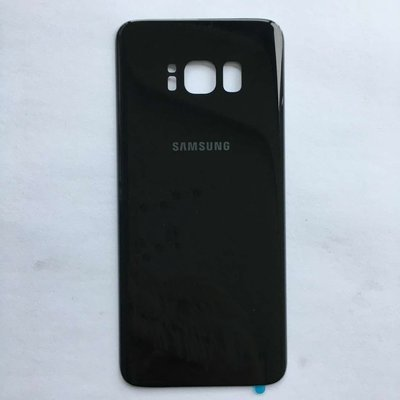 Samsung S8 Back Cover Replacement - Black