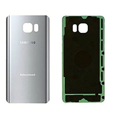 Samsung Note 5 Back Cover Replacement - Silver