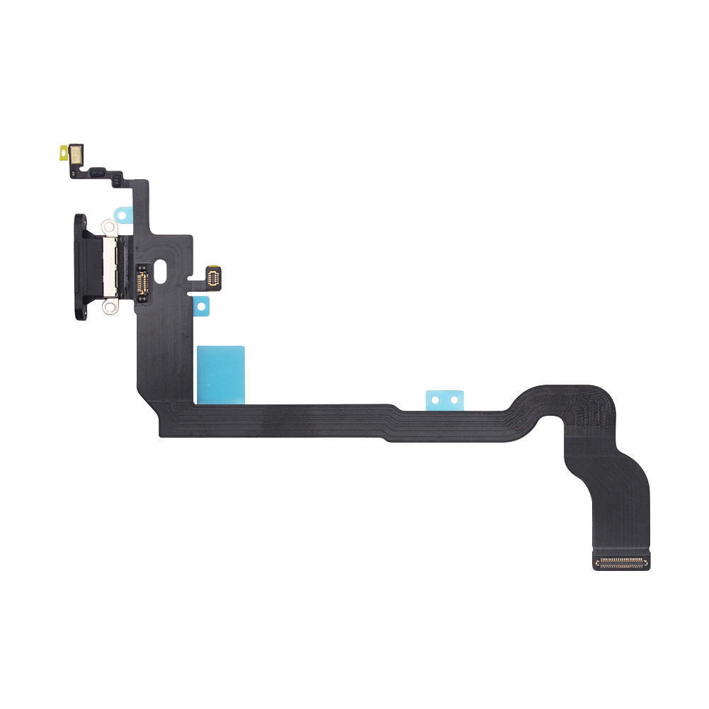 iPhone X Charging Port Flex Replacement - Black