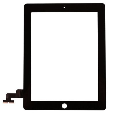 iPad 2 Glass & Touch Digitizer Replacement - Black - Original Quality