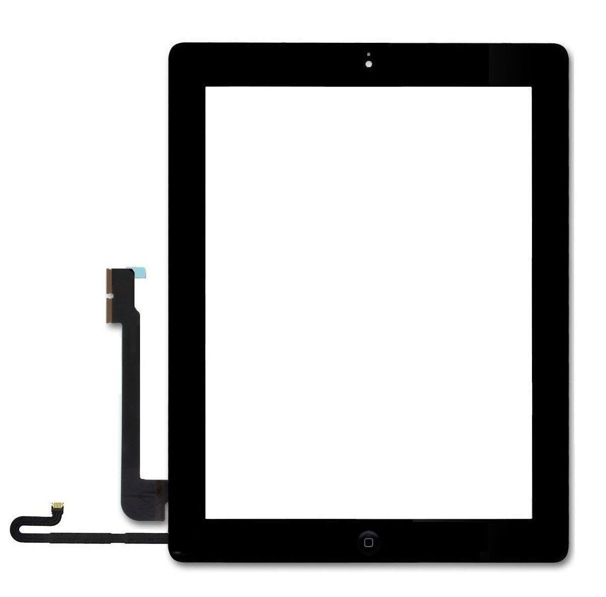 iPad 4 Glass & Touch Digitizer Replacement - Black - Original Quality