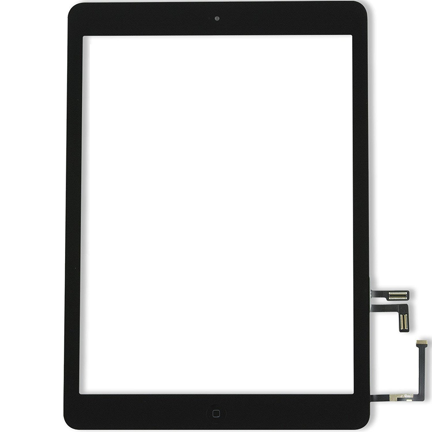 iPad Air 1 Glass & Touch Digitizer Replacement - Black - Original Quality