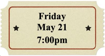 Friday, May 21 at 7:00pm