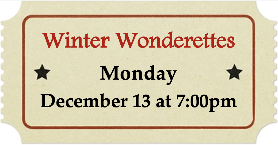 Monday, December 13 at 7:00pm