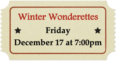 Friday, December 17 at 7:00pm