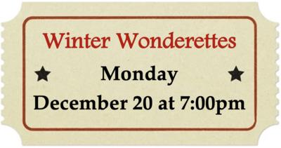 Monday, December 20 at 7:00pm