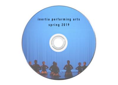 Inertia 2019 Spring Recital DVD