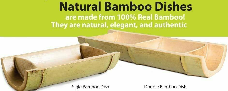 Natural Bamboo Dishes