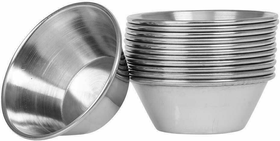 Stainless Steel Feeding Cups 1.5oz