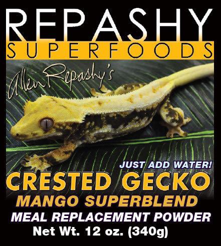 Repashy Crested Gecko Mango Superblend MRP 3 oz.