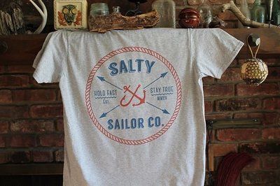 Salty Sailor Co. Bitter End T