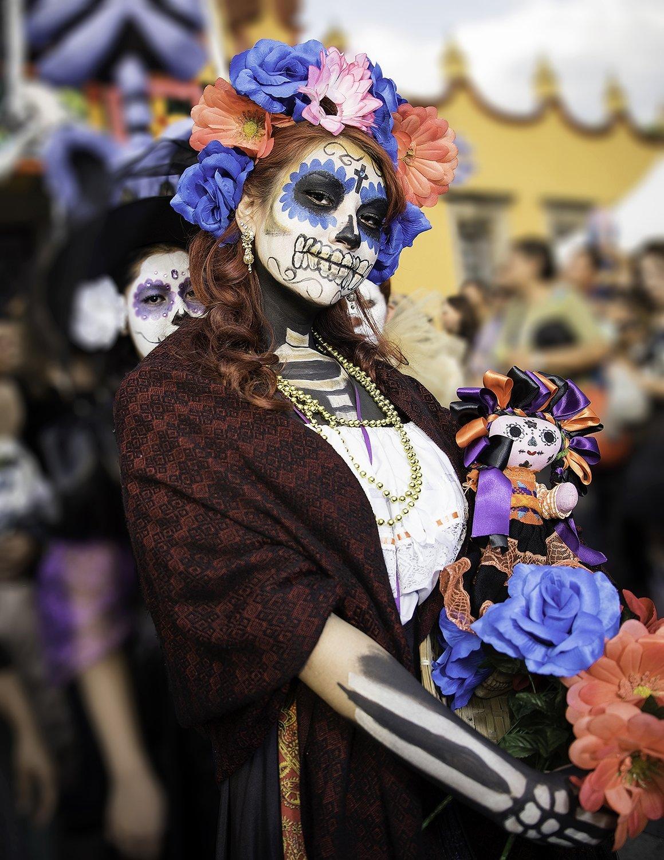 Dia de Muertos en Coyoacán