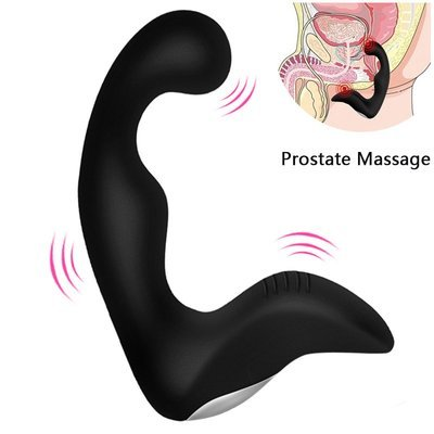 Silicone Male Prostate Massager / Anal Vibrator ~ 7 Speeds