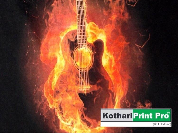 Kothari RIP for White Laser Toner Printing