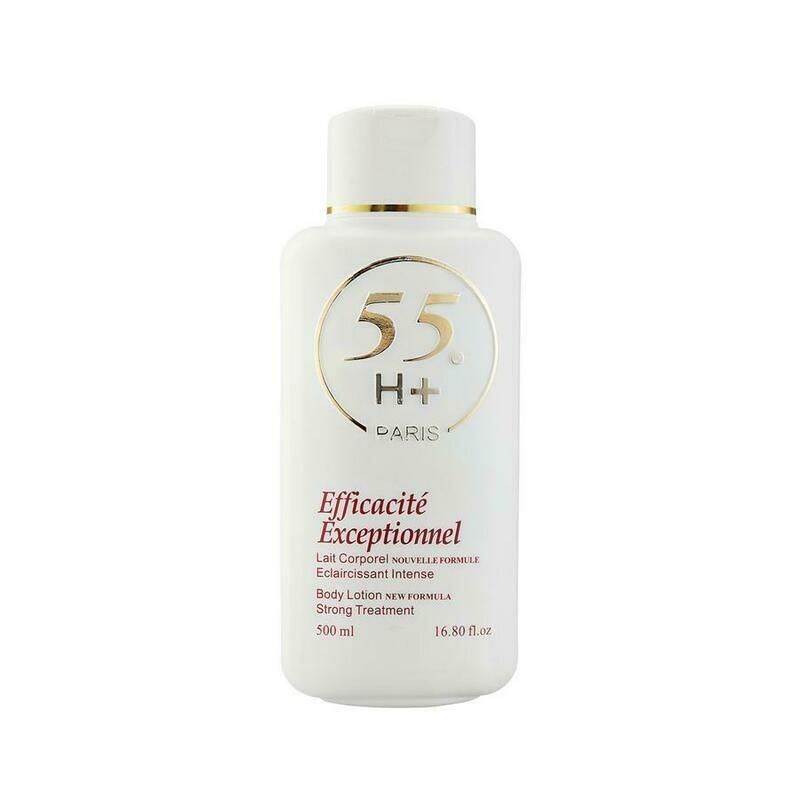 55H+Paris  - Efficacite Exceptionnel Body Lotion
