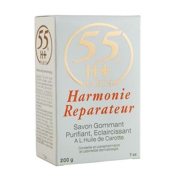 55H+Paris - Harmonie Reparateur Exfoliating Soap