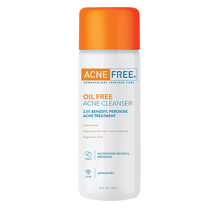 Acne Free - Oil-Free Acne Cleanser