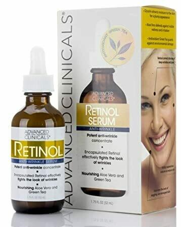 Advanced Clinicals - Professional Strength Retinol Serum