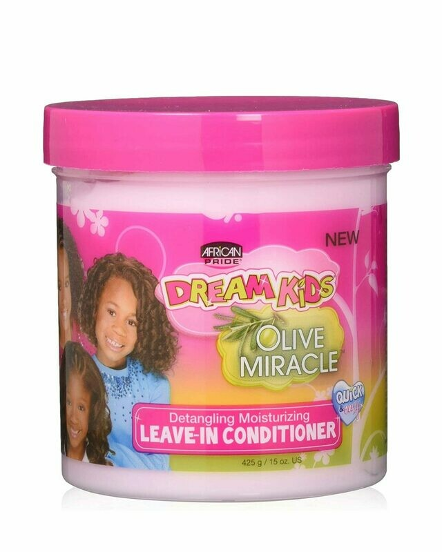 African Pride - Dream Kids Olive Miracle Detangling Moisturizing Leave-In Conditioner
