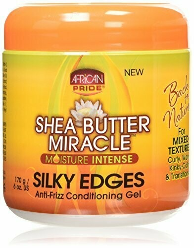 African Pride - Shea Butter Miracle Silky Edge Conditioning Gel