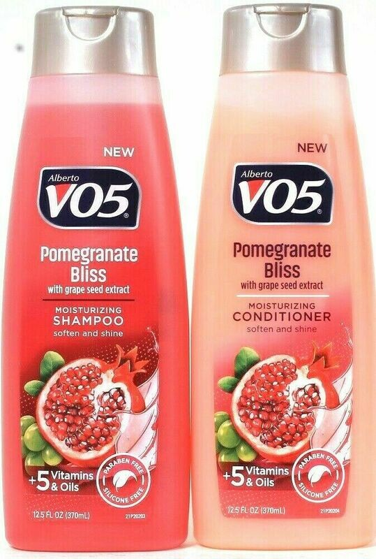 Alberto VO5 - Pomegranate Bliss & Grapeseed Extract Moisturizing Conditioner & Shampoo