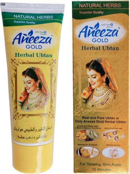 Aneeza Gold - Herbal Ubtan With SunScreen