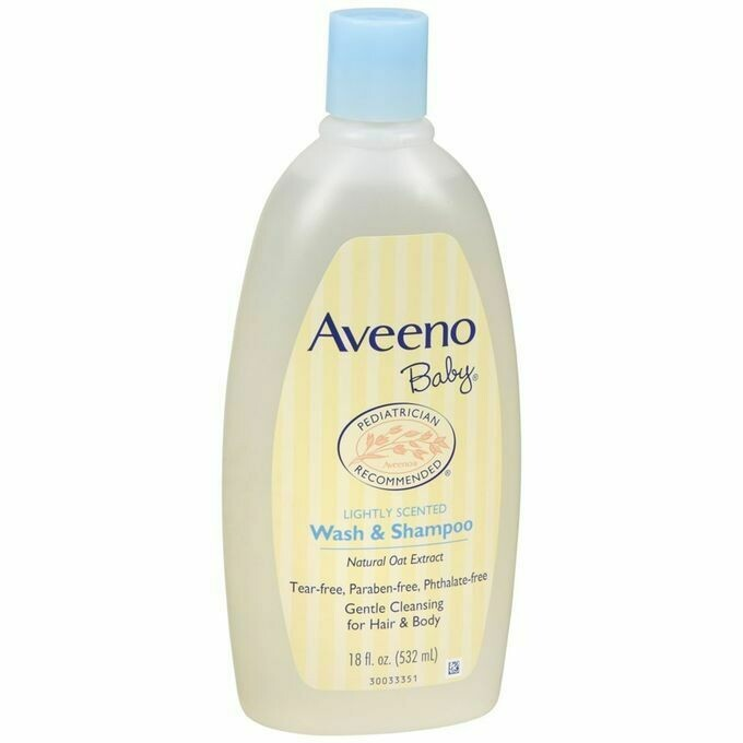 Aveeno - Baby Gentle Wash & Shampoo with Natural Oat Extract