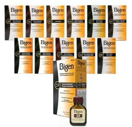 Bigen - Permanent Powder Hair Color