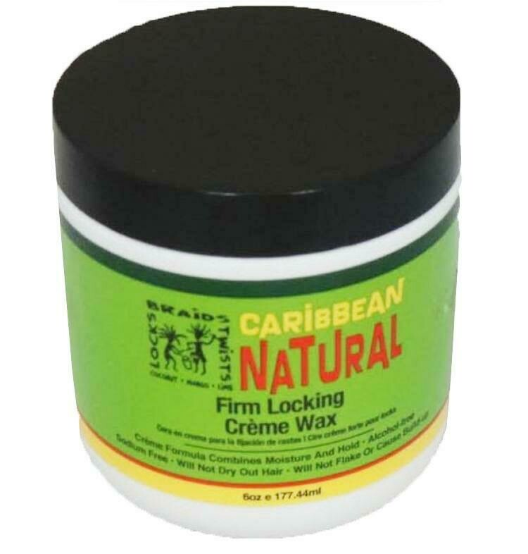 Caribbean Natural - Firm Locking Creme Wax Jar