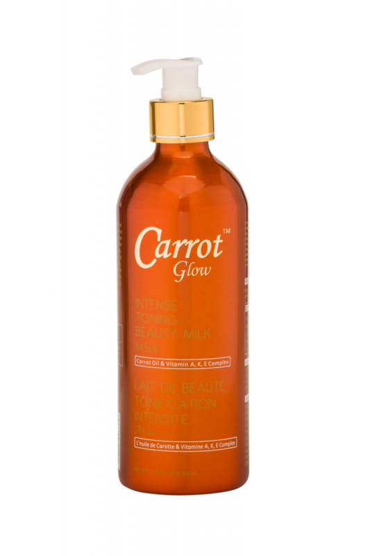 Carrot glow - Intense Toning Beauty Milk With Carrot Oil