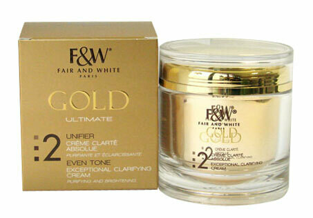 Fair & White - Gold Ultimate 2 Exceptional Clarifying Cream