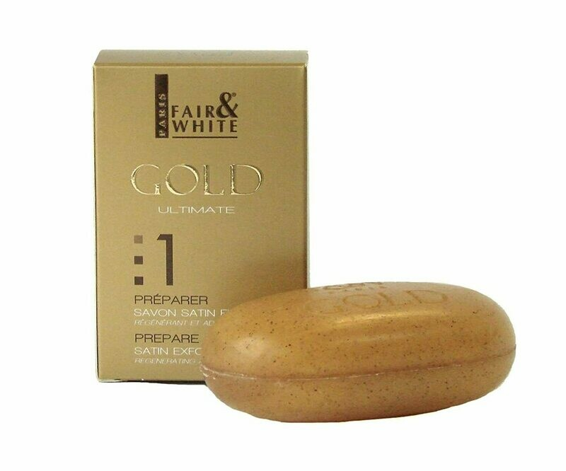 Fair & White - Gold Ultimate 1 Satin Exfoliating Bar Soap