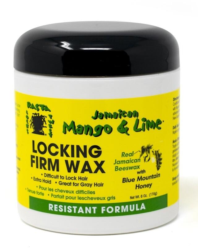 Jamaican Mango & Lime - Locking Firm Wax Resistant Formula