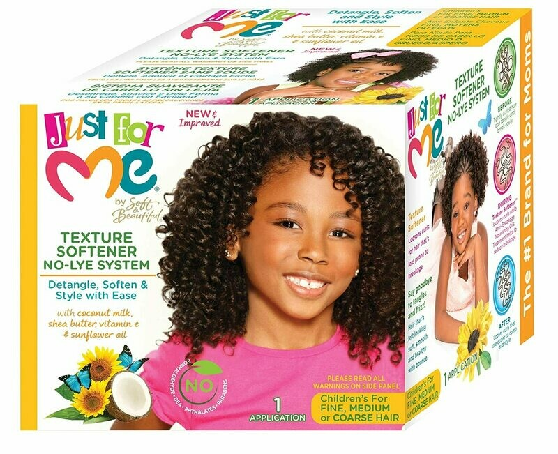 Just For Me - Texture Softener System Kit