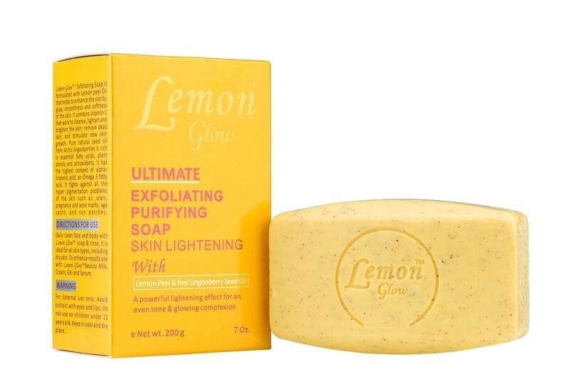 Lemon Glow - Ultimate Exfoliating Purifying Soap