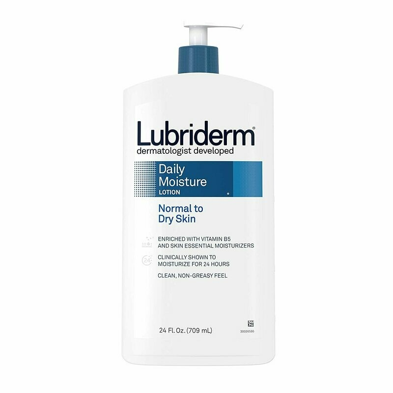 Lubriderm - Daily Moisture Hydrating Body and Hand Lotion with Vitamin B5