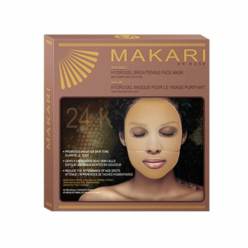Makari - 24k Gold Hydrogel Brightening Face Mask