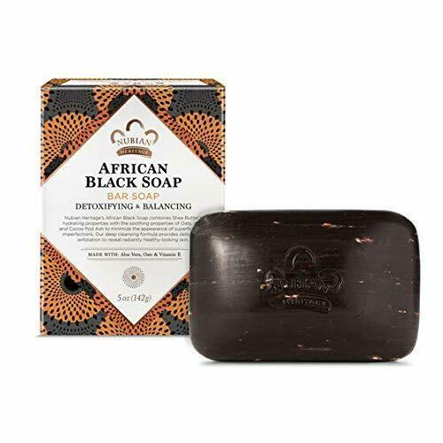 Nubian Heritage - African Black Bar Soap