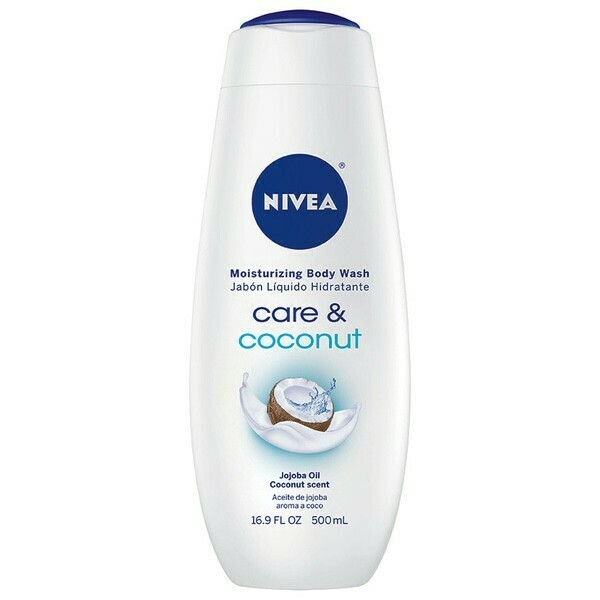 Nivea - Care and Coconut Moisturizing Body Wash