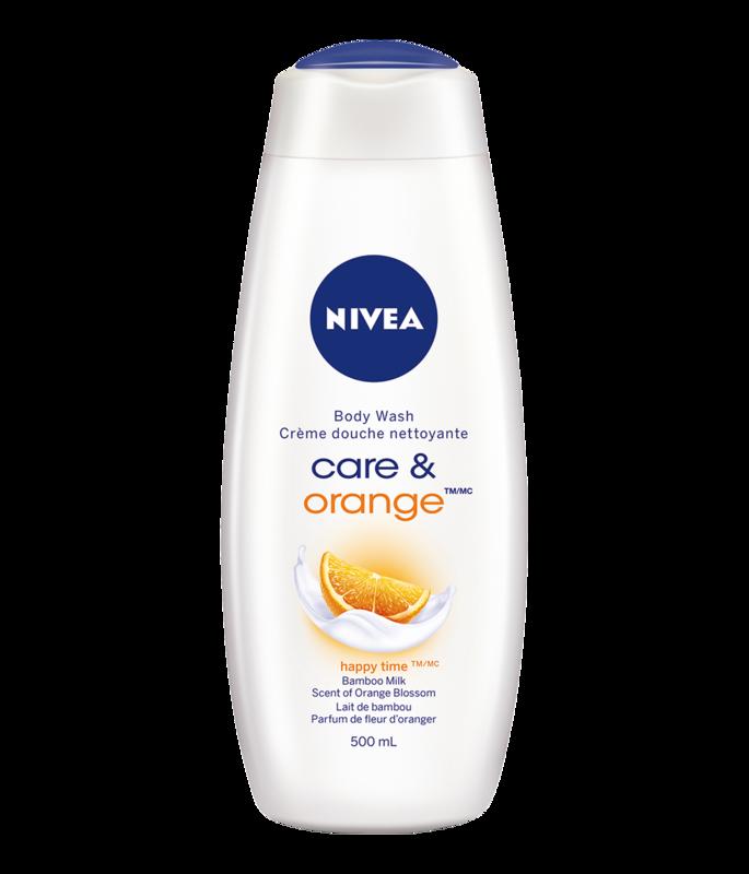 Nivea - Care & Orange Blossom Moisturizing Body Wash