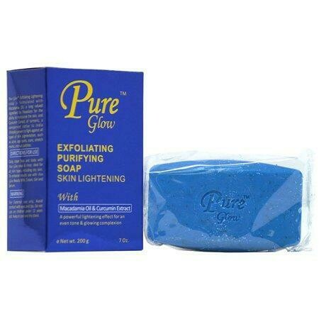 Pure Glow - Exfoliating Purifying Soap Skin Lightening