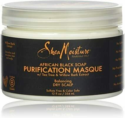 Shea Moisture - African Black Soap Purification Masque